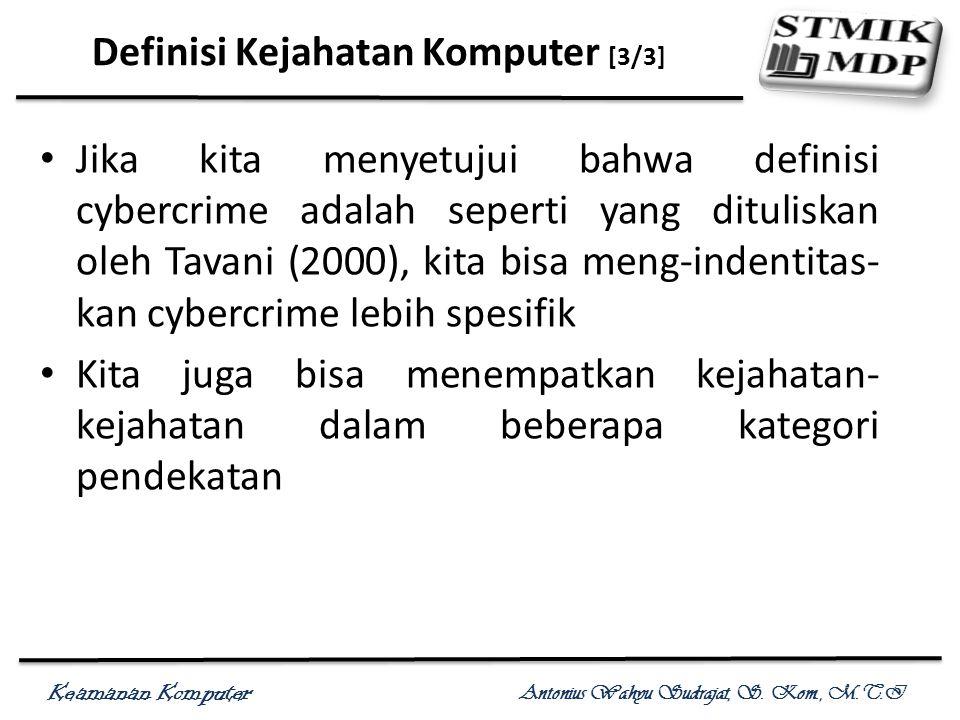 Definisi Kejahatan Komputer [3/3]